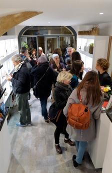 N°5 GALERIE vernissage 1er décembre 2015 - Montpellier - 1