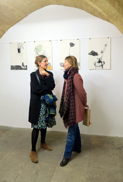 N°5 GALERIE vernissage 1er décembre 2015 - Montpellier - 4
