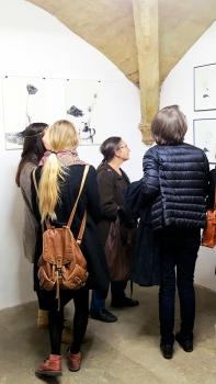 N°5 GALERIE vernissage 1er décembre 2015 - Montpellier - 8