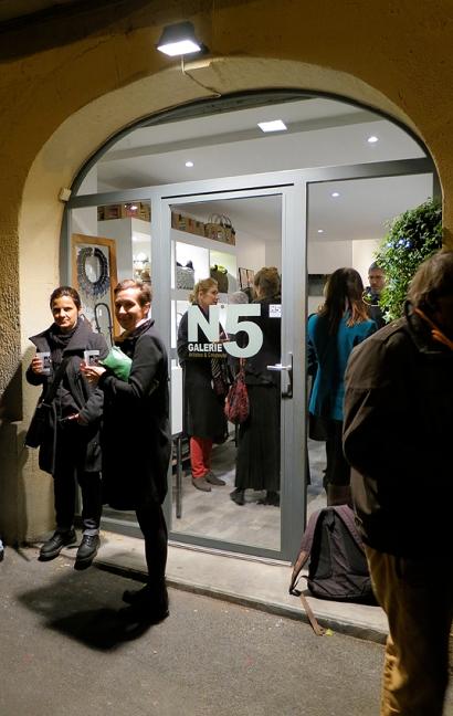N°5 GALERIE vernissage 1er décembre 2015 - Montpellier