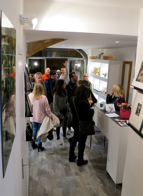 N°5 GALERIE - vernissage exposition Ouvrir le champ des possibles - 4 mars 2016 - Montpellier - 12