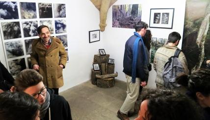 N°5 GALERIE - vernissage exposition Ouvrir le champ des possibles - 4 mars 2016 - Montpellier - 2