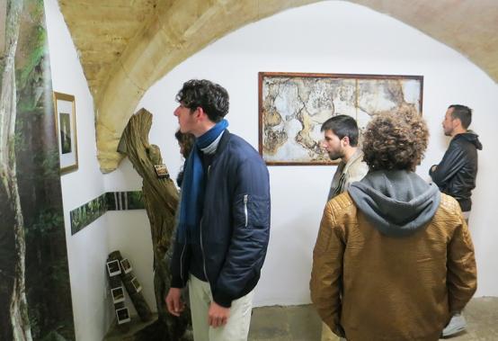 N°5 GALERIE - vernissage exposition Ouvrir le champ des possibles - 4 mars 2016 - Montpellier - 4