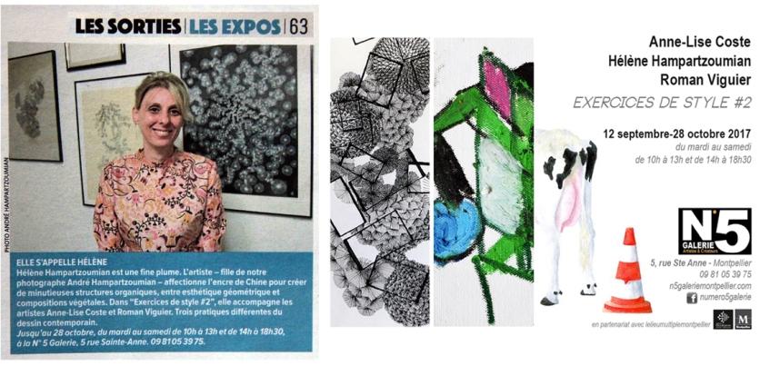 """Expo 9 """"Exercices de style #2"""""""