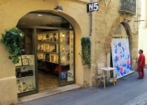 N°5 GALERIE - exposition artiste et créateur - peinture partagée - Yann Dumoget - performance - art contemporain - Montpellier - mai 2016 - 1