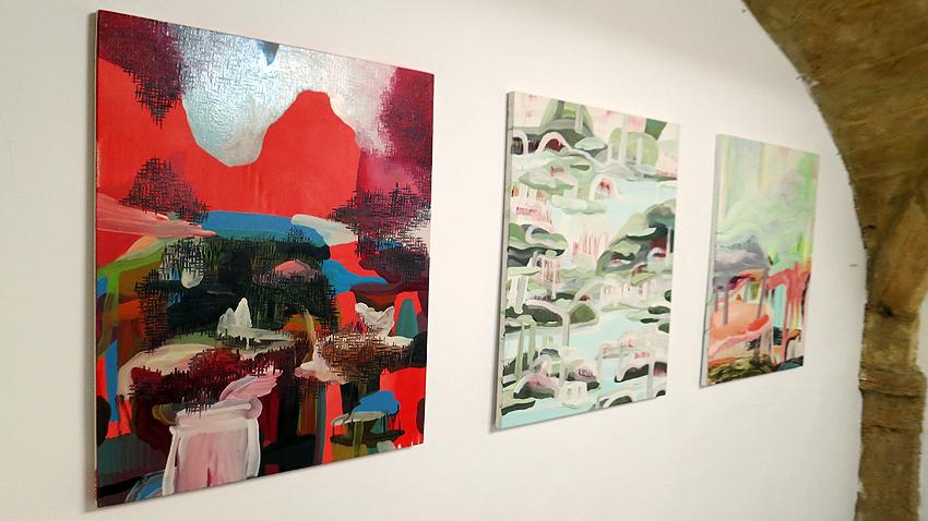 N°5_GALERIE_exposition_odyssee_Armelle_de_Sainte_Marie_peinture_art_contemporain_Montpellier_2017