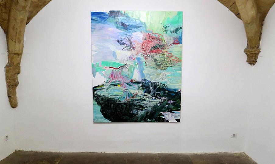N°5_GALERIE_exposition_odyssee_Armelle_de_Sainte_Marie_peinture_Odyssee_32_art_contemporain_Montpellier_2017