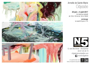 N°5_GALERIE_Carton_exposition_Odysse_Armelle_de_Sainte_Marie_peinture_Montpellier_2017