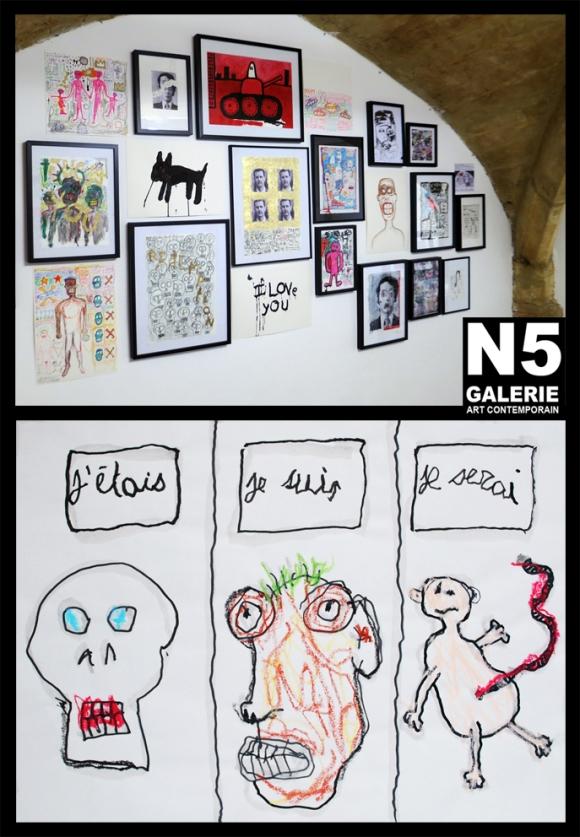 N5_galerie_exposition_dessin_Alain_Marciano_Wonderful_world_Montpellier_2017