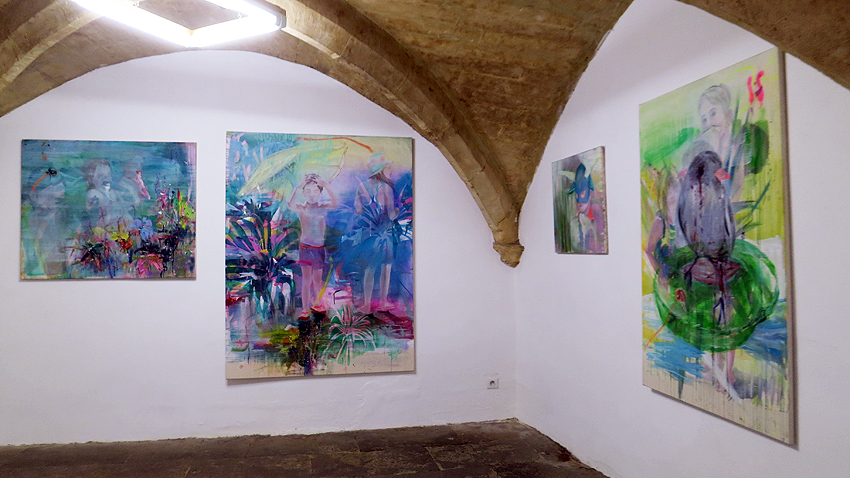 N5 galerie_exposition peinture_Reminiscences_Estelle Contamin_Montpellier_2018_3