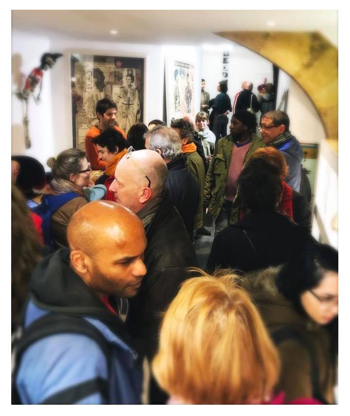 N5 galerie_vernissage exposition_Anatomies_Montpellier_mars_2018