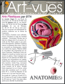 """Expo 12 """"Anatomie(s)"""""""