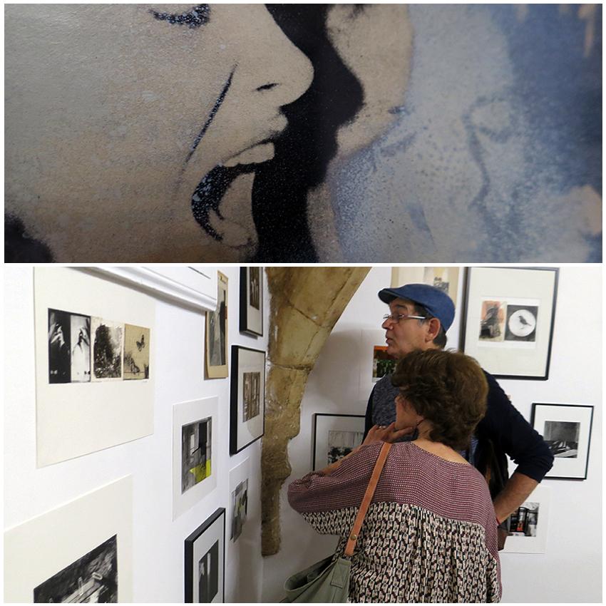 N5 galerie_Laurence Briat_dessin_peinture_collage_exposition_Montpellier_2018_1