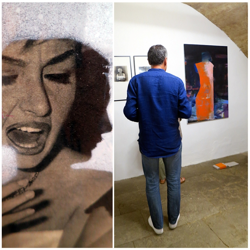 N5 galerie_Laurence Briat_dessin_peinture_collage_exposition_Montpellier_2018_2