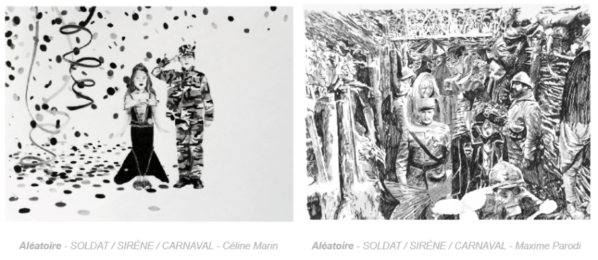 N5 galerie_exposition_Celine Marin_Maxime Parodi_dessin_Montpellier_septembre_2018_2