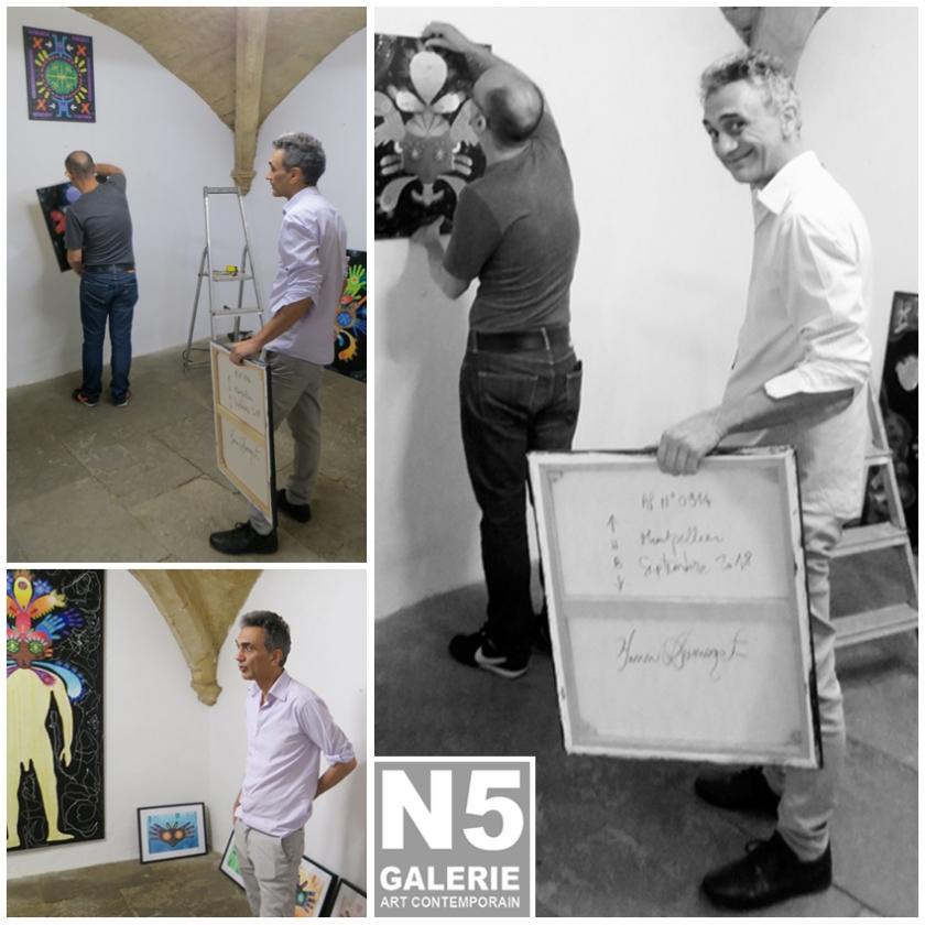 N5 galerie_Yann Dumoget_exposition_peintures_octobre_2018_Montpellier-1