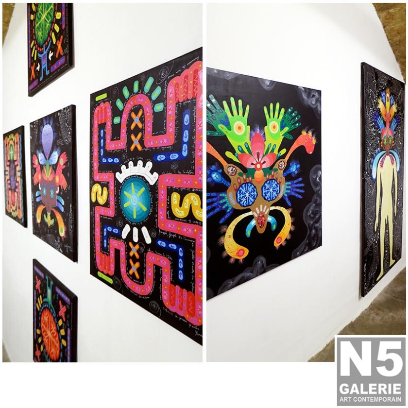N5 galerie_Yann Dumoget_exposition_peintures_octobre_2018_Montpellier-3
