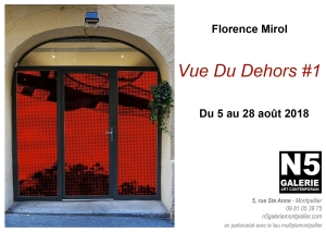 N5 galerie_exposition_Florence Mirol_Montpellier_VDD#1_2018