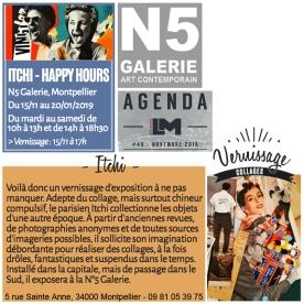 """""""Happy Hours"""" - Décembre 2018"""