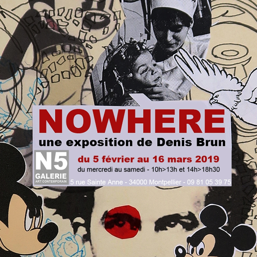 n5 galerie_exposition_nowhere_denis brun_montpellier_2019