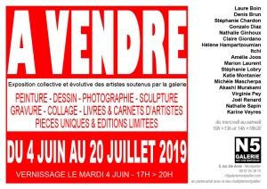 N5 galerie_carton_exposition_artistes_a vendre_Montpellier_2019_petit