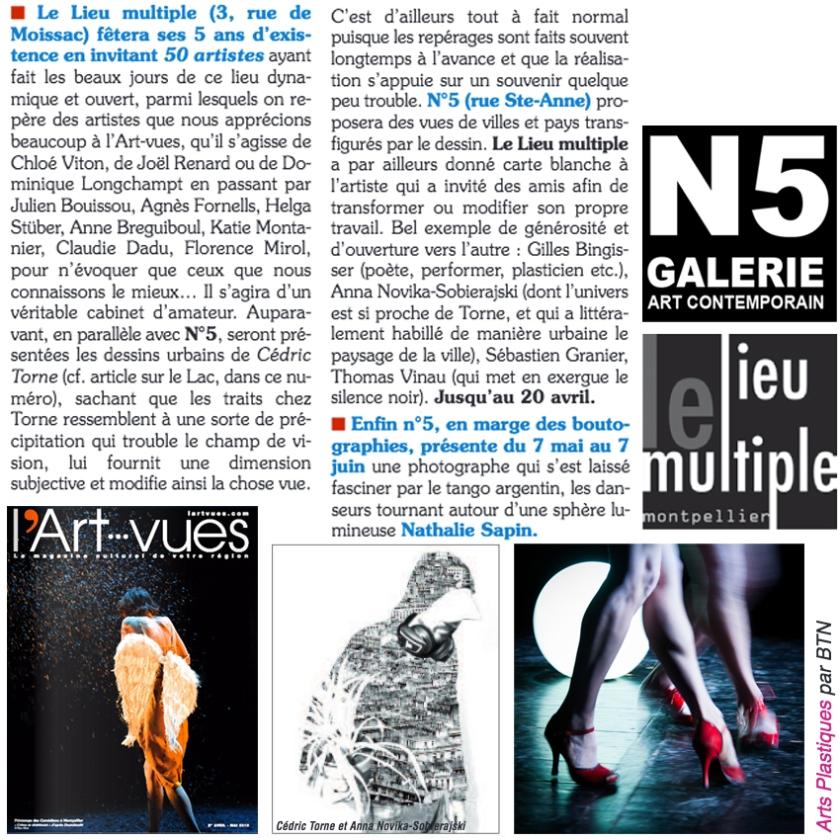 N5 galerie_le lieu multiple montpellier_exposition_presse_Montpellier_2019